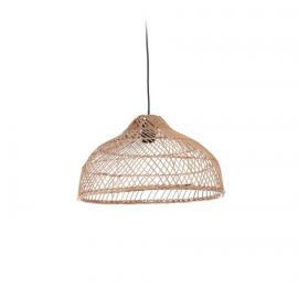 Pantalla para lámpara Dyara 100% ratán Ø 41 cm