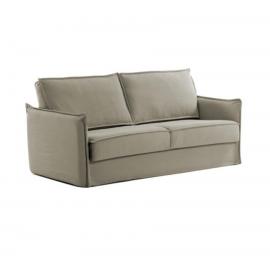 Sofá cama Samsa 160 cm poliuretano beige