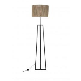 Lámpara de pie asimétrica.