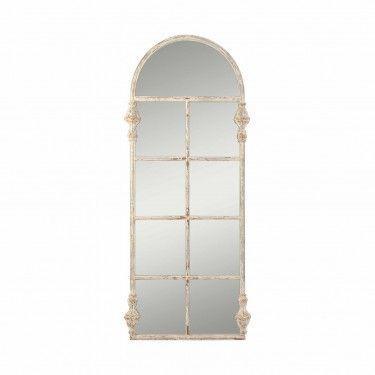 Espejo en color dorado de estilo colonial fabricado en for Espejo dorado bano