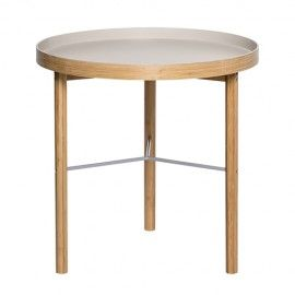 Mesa café de madera.
