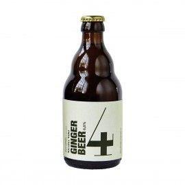 Cerveza de jengibre sin alcohol.