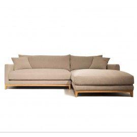 Sofá TOMMAS chaise. Distintos tamaños.