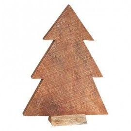 Árbol de Navidad de madera.