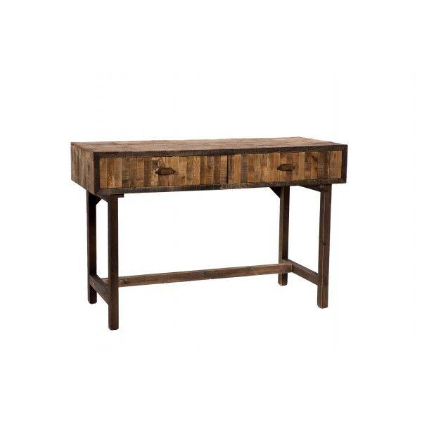 Escritorio en madera de abeto en tono natural de distintos - Madera de abeto ...