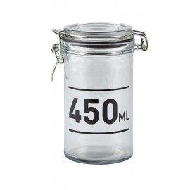 Bote de cristal hermético 450.