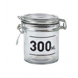 Bote de cristal hermético 300.