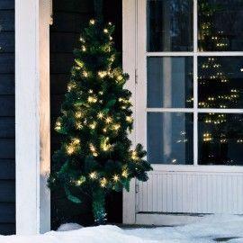 Abeto de Navidad con luces led incorpadas