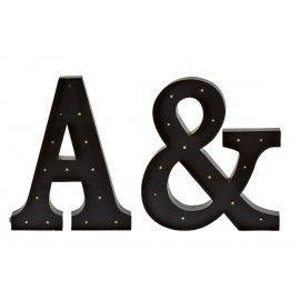 Dos letras A &.