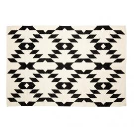 Alfombra de lana natural.120x180 cm.