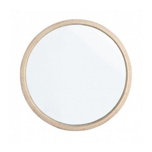 Espejo marco madera stunning espejo vestidor con marco for Espejo redondo marco madera